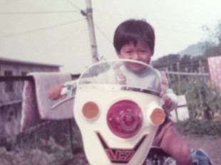 幼い頃の僕
