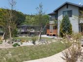 現代風築山ガーデン6