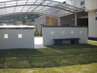シンプルデザイン壁