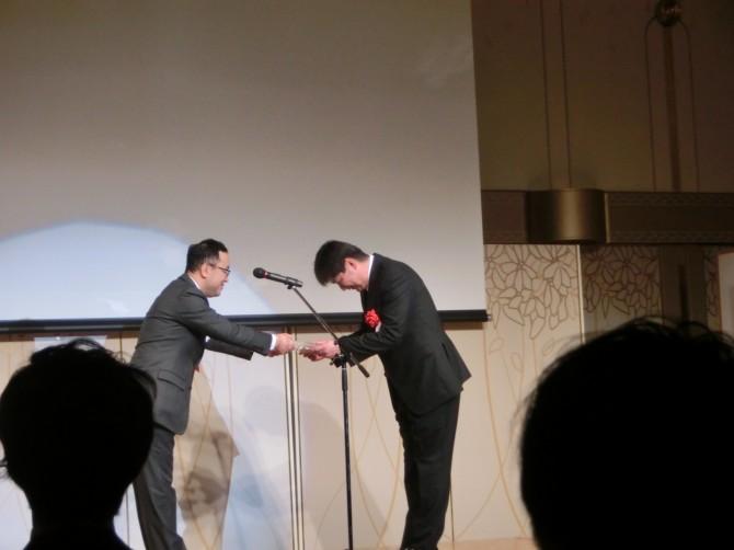 リクシルエクステリア表彰式