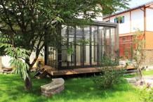 お庭で採れた野菜を使ってホームパーティ2