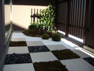 癒しの坪庭