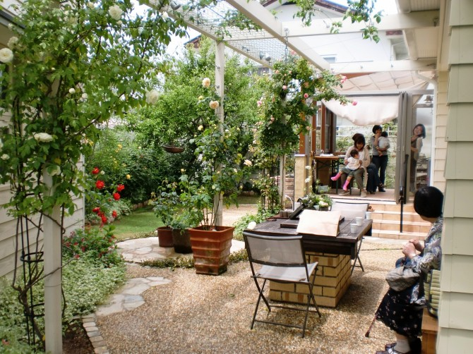 ガーデンルームのある暮らし